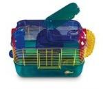 Hamsterbure fås i ufatteligt mange varianter (foto lavprisdyrehandel.dk